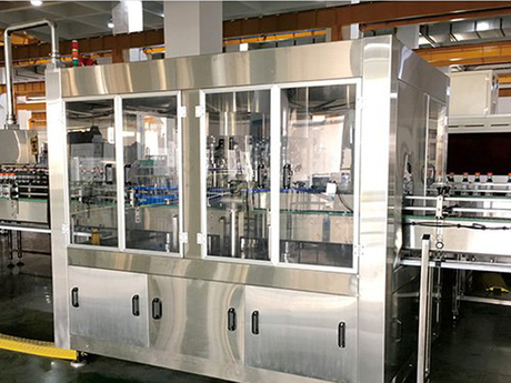 Rorary Type Pet Bottle Crown Capping Machine